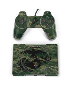 Black Marine Earth Eagle PlayStation Classic Bundle Skin