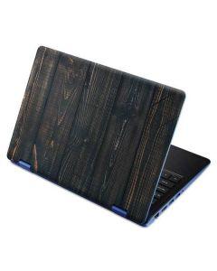 Black Painted Wood Aspire R11 11.6in Skin
