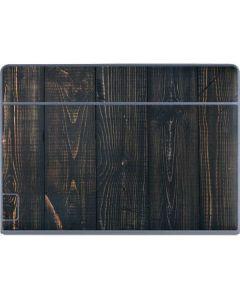 Black Painted Wood Galaxy Book Keyboard Folio 12in Skin