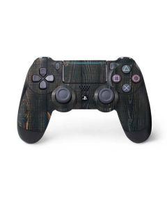 Black Painted Wood PS4 Pro/Slim Controller Skin