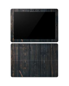 Black Painted Wood Surface Go Skin