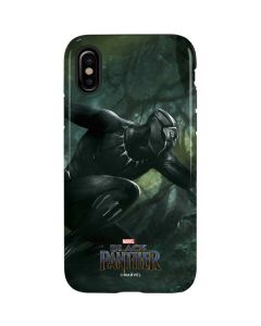Black Panther In Action iPhone XS Max Pro Case