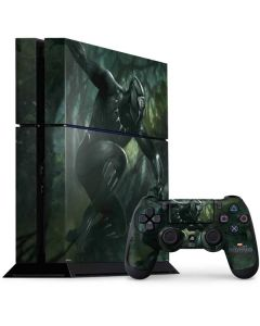 Black Panther In Action PS4 Console and Controller Bundle Skin