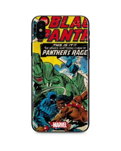 Black Panther Jungle Action iPhone XS Max Skin