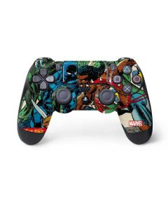 Black Panther Jungle Action PS4 Controller Skin