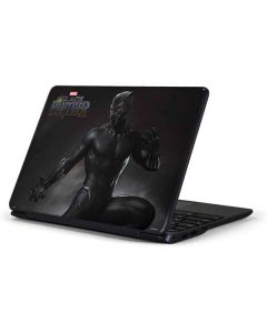 Black Panther Ready For Battle Samsung Chromebook Skin