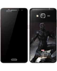 Black Panther Ready For Battle Galaxy Grand Prime Skin