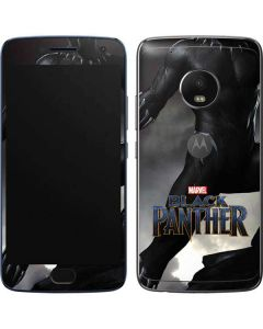 Black Panther Ready For Battle Moto G5 Plus Skin
