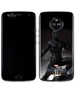 Black Panther Ready For Battle Moto X4 Skin