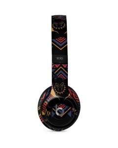 Black Panther Tribal Print Beats Solo 2 Wired Skin