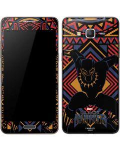 Black Panther Tribal Print Galaxy Grand Prime Skin