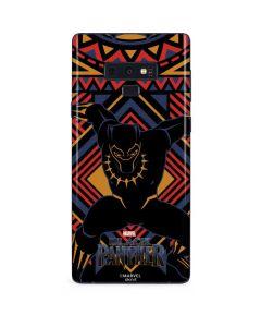 Black Panther Tribal Print Galaxy Note 9 Skin