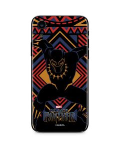 Black Panther Tribal Print iPhone XR Skin