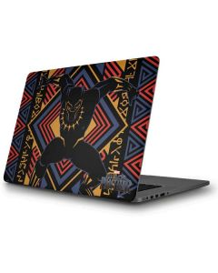 Black Panther Tribal Print Apple MacBook Pro Skin