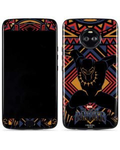 Black Panther Tribal Print Moto X4 Skin