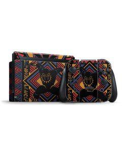 Black Panther Tribal Print Nintendo Switch Bundle Skin