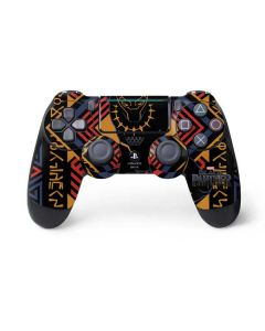Black Panther Tribal Print PS4 Pro/Slim Controller Skin