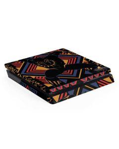 Black Panther Tribal Print PS4 Slim Skin