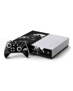 Black Panther Up Close Xbox One S Console and Controller Bundle Skin