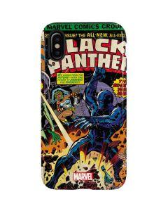 Black Panther vs Six Million Year Man iPhone X Pro Case