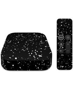 Black Speckle Apple TV Skin