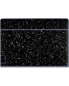 Black Speckle Galaxy Book Keyboard Folio 12in Skin