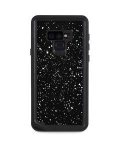 Black Speckle Galaxy Note 9 Waterproof Case