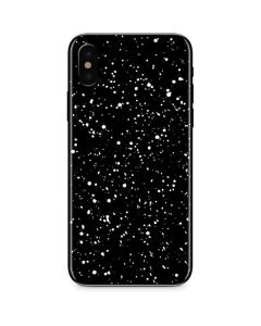 Black Speckle iPhone XS Max Skin