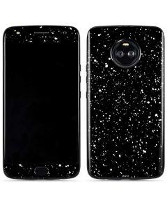Black Speckle Moto X4 Skin