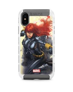 Black Widow in Action iPhone X/XS Cargo Case
