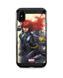 Black Widow in Action iPhone XS Max Cargo Case