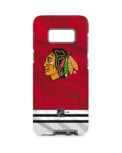 Blackhawks Red Stripes Galaxy S8 Pro Case