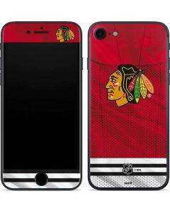 Blackhawks Red Stripes iPhone 7 Skin