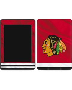 Blackhawks Red Stripes Amazon Kindle Skin