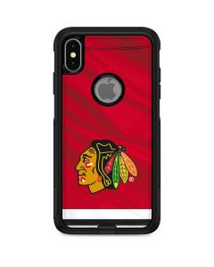 Blackhawks Red Stripes Otterbox Commuter iPhone Skin