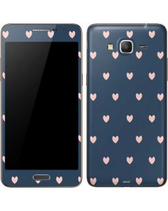 Blue and Pink Hearts Galaxy Grand Prime Skin