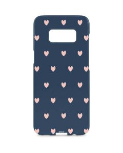 Blue and Pink Hearts Galaxy S8 Plus Lite Case