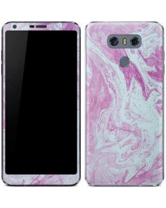 Blue and Purple Marble LG G6 Skin