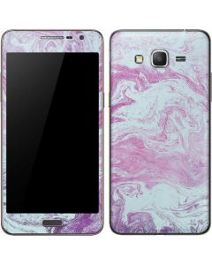 Blue and Purple Marble Galaxy Grand Prime Skin