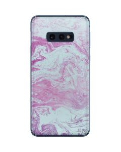 Blue and Purple Marble Galaxy S10e Skin