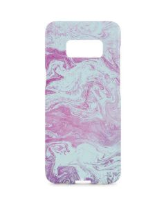 Blue and Purple Marble Galaxy S8 Plus Lite Case