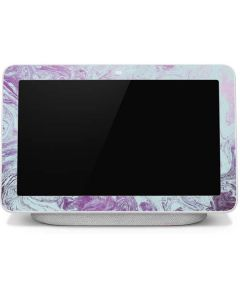 Blue and Purple Marble Google Home Hub Skin