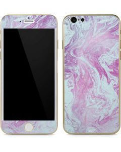 Blue and Purple Marble iPhone 6/6s Skin