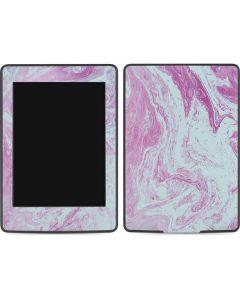 Blue and Purple Marble Amazon Kindle Skin