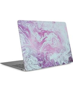 Blue and Purple Marble Apple MacBook Air Skin