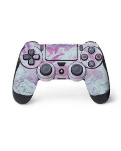 Blue and Purple Marble PS4 Pro/Slim Controller Skin
