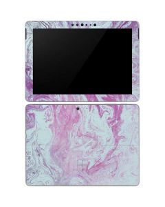 Blue and Purple Marble Surface Go Skin