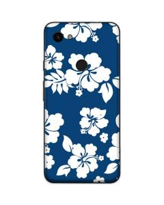 Blue and White Google Pixel 3a Skin