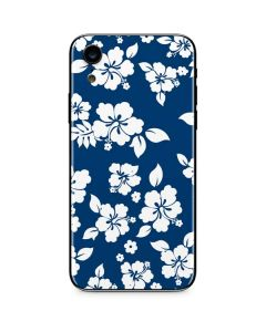 Blue and White iPhone XR Skin