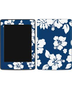 Blue and White Amazon Kindle Skin